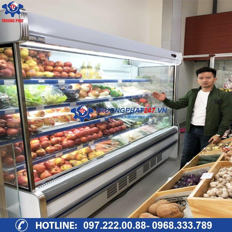 giá tủ mát trưng bày trái cây