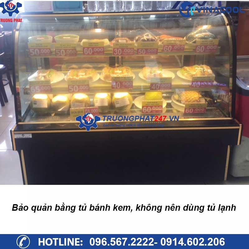 tủ lạnh bảo quản bánh kem 1,5m