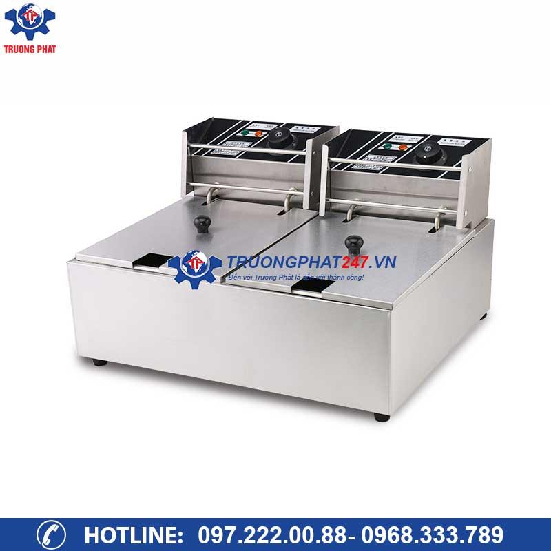 Bếp chiên nhúng điện đôi HX-82