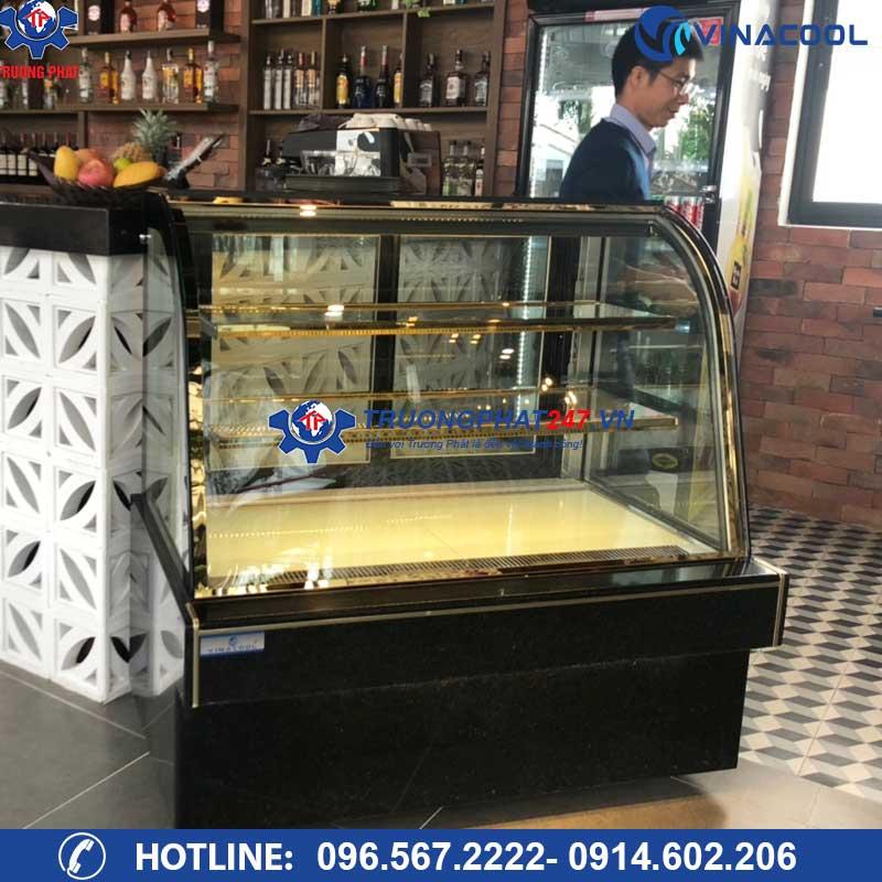tủ mát đựng bánh kem 1m5