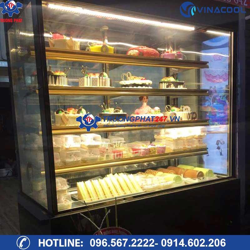 tủ trưng bày bảo quản bánh kem 5 tầng Vinacool