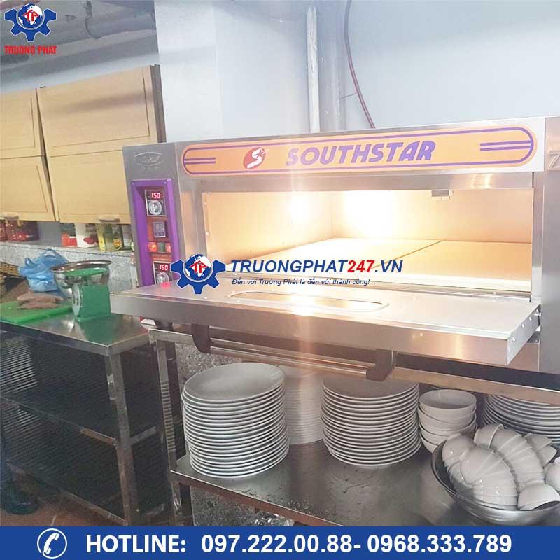 cấu tạo lò nướng bánh mì 1 tầng 2 khay YXD-20C