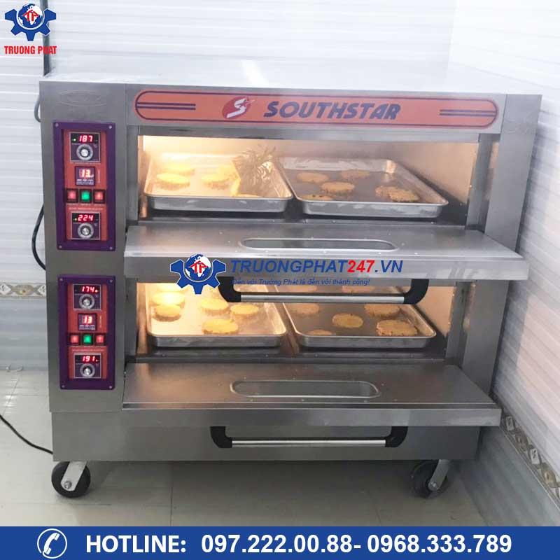lò nướng bánh mì dùng điện 2 tầng 4 khay YXD-40C
