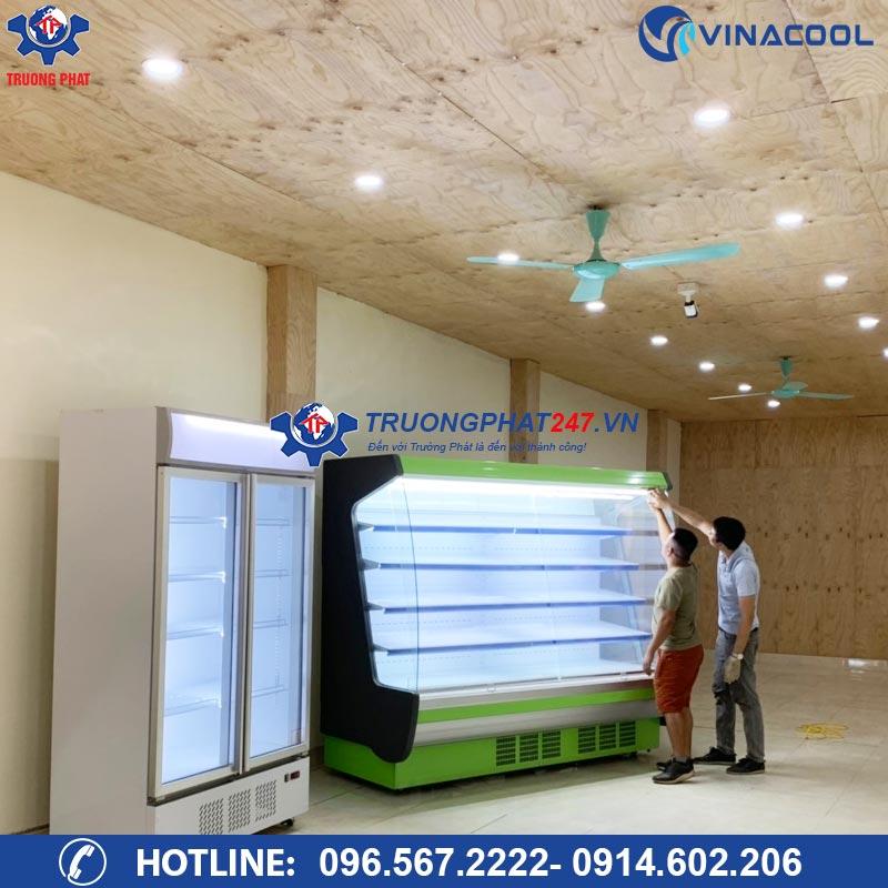 tủ mát trưng bày kính cong SLG-2000FB