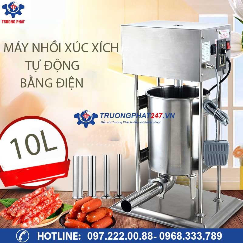 máy làm xúc xích bằng điện 10 lít