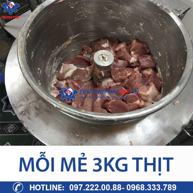 năng suất 3kg thịt
