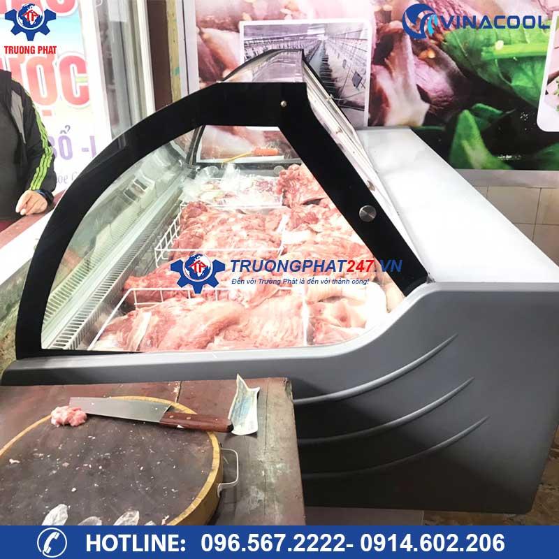 tủ bán thịt siêu thị