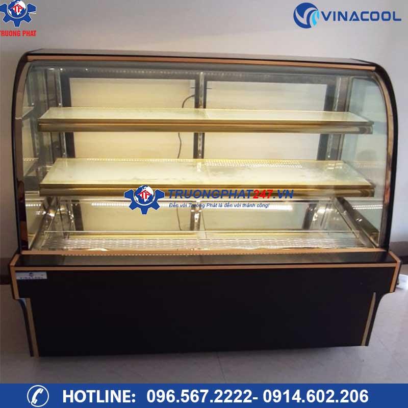 tủ bánh vinacool DH-1500 kính cong