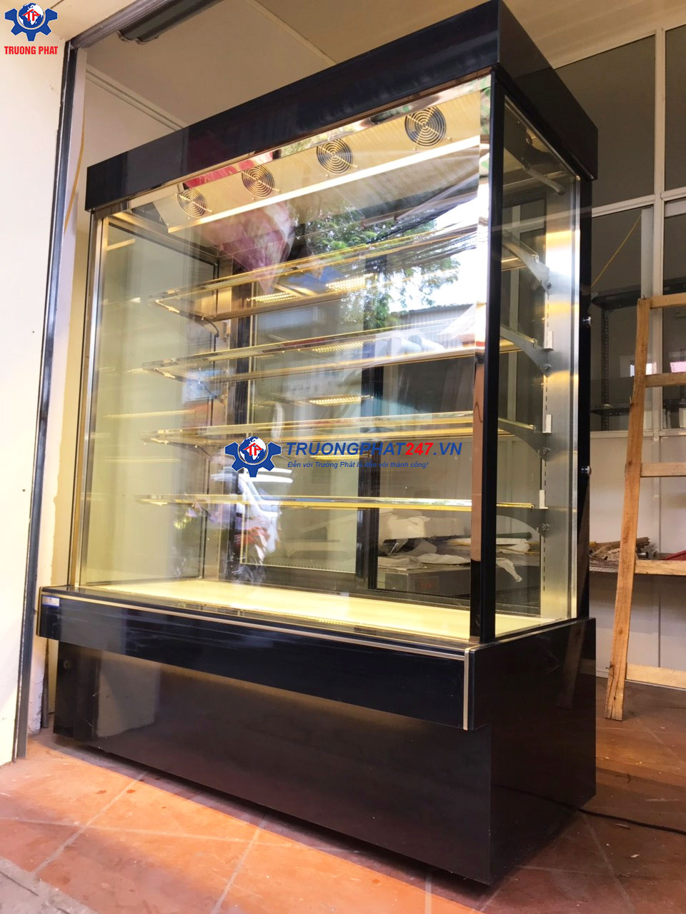 tủ bánh trung quốc 5 tầng