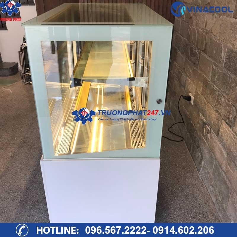 tủ bánh kem kính vuông DZA-1200
