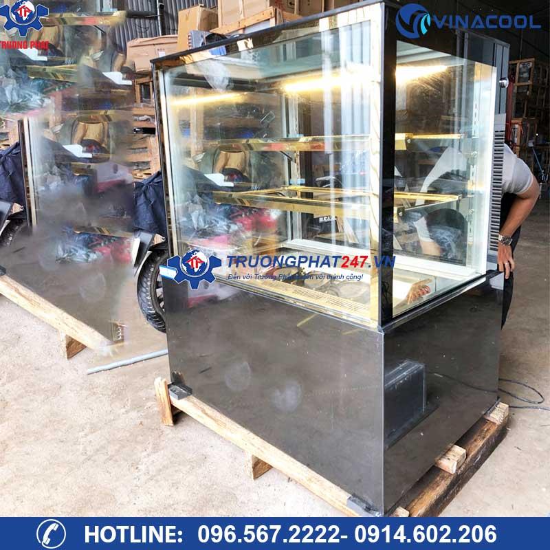 tủ bánh kính vuông 3 tầng DZA-1200
