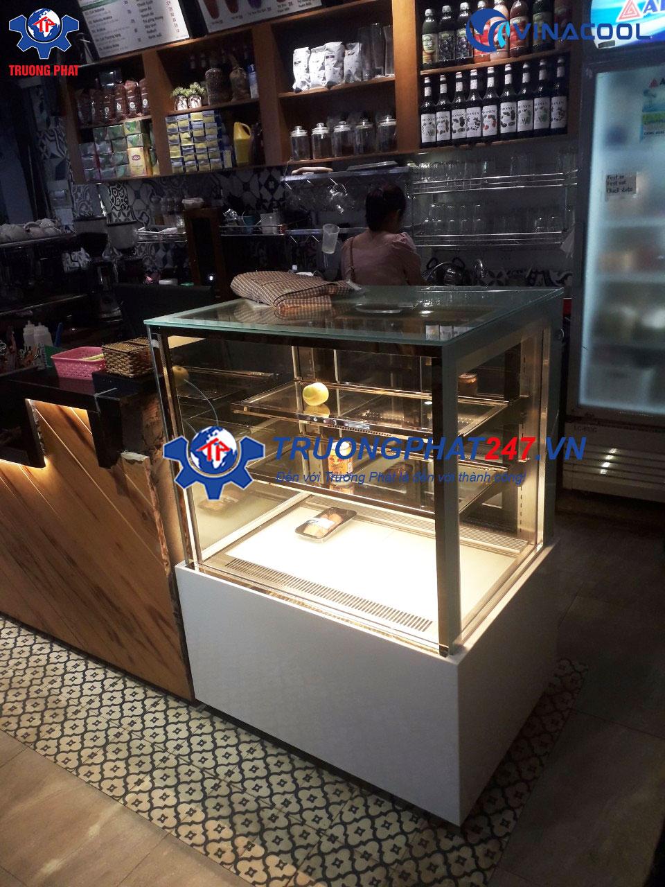 tủ trưng bày bánh quán cafe 90cm