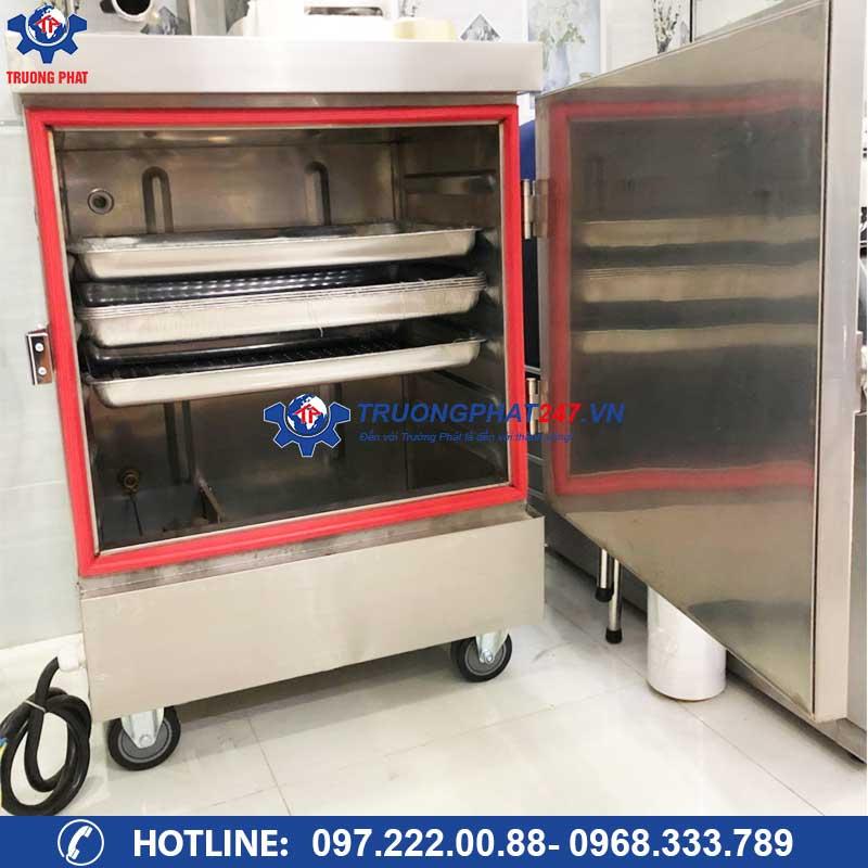 Tủ hấp bánh bao loại nhỏ 6 khay dùng điện ZQW-B6