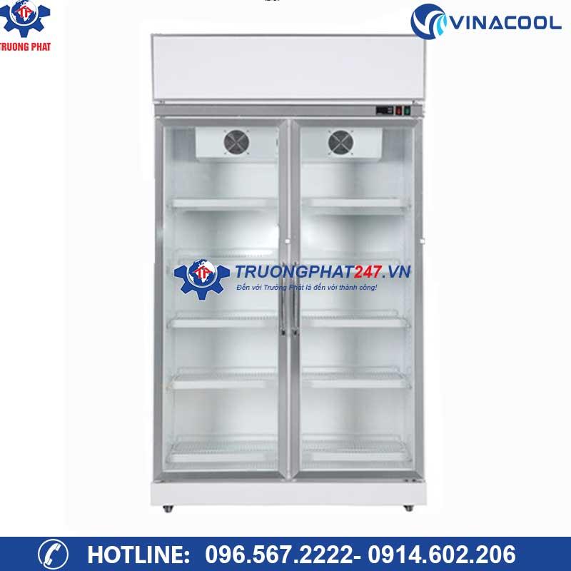 Tủ mát trưng bày trái cây, nước ngọt 2 cánh kính SLG-1200FS