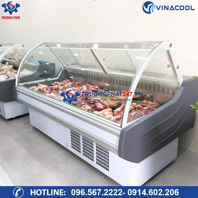 Tủ trưng bày thịt cá tươi sống SHG-2000f (có sấy kính)
