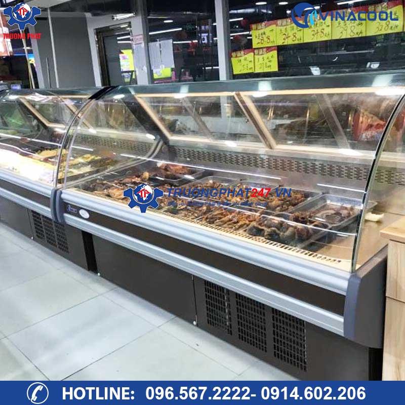 tủ trưng bày thịt SHG-2000F màu đen