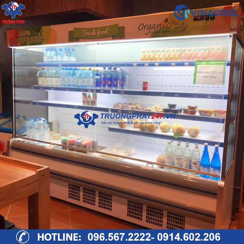 tủ trưng bày rau siêu thị SLG-2500F