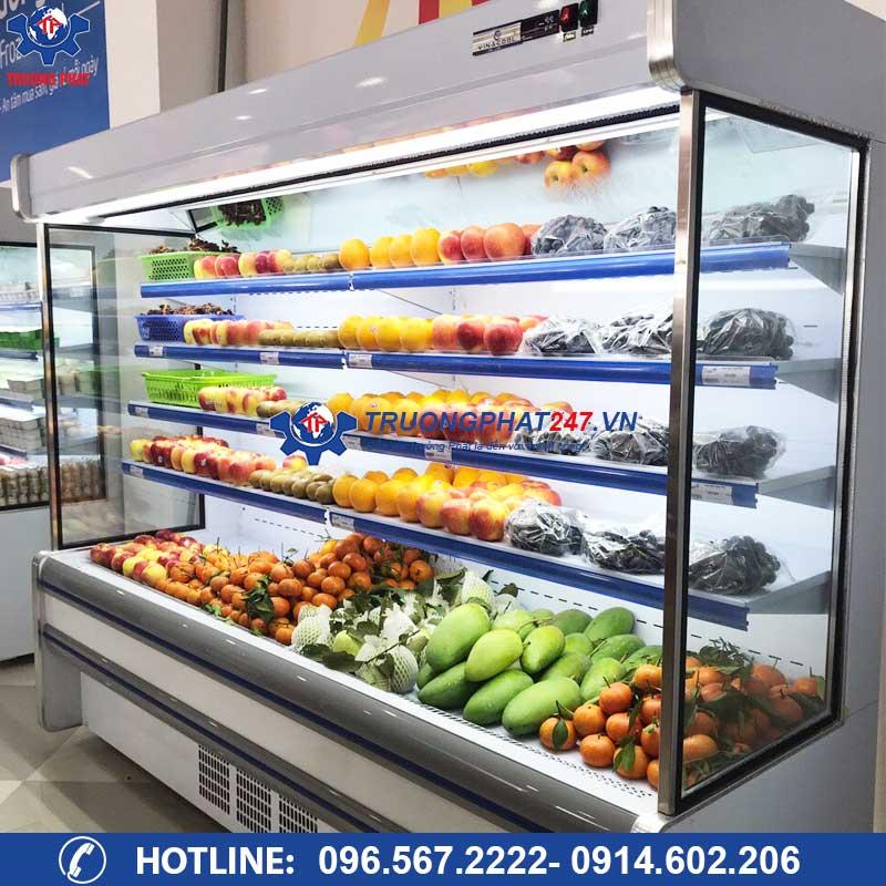Tủ mát trưng bày rau củ quả siêu thị SLG-2500F ( Dài 2,5m)