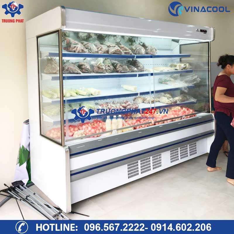 tủ bảo quản thực phẩm siêu thị SLG-2000F