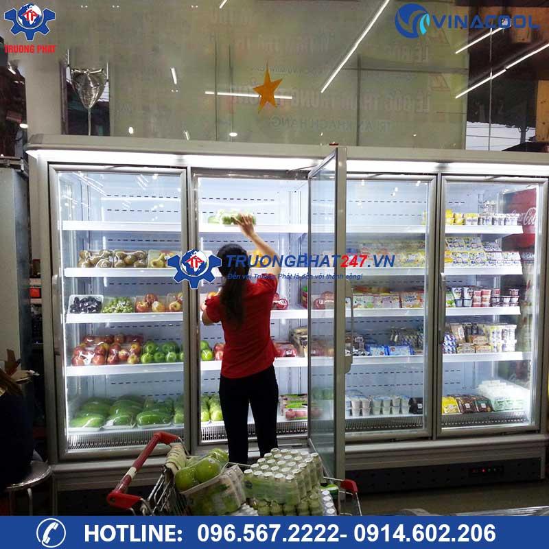 lắp đặt tủ siêu thị cao cấp