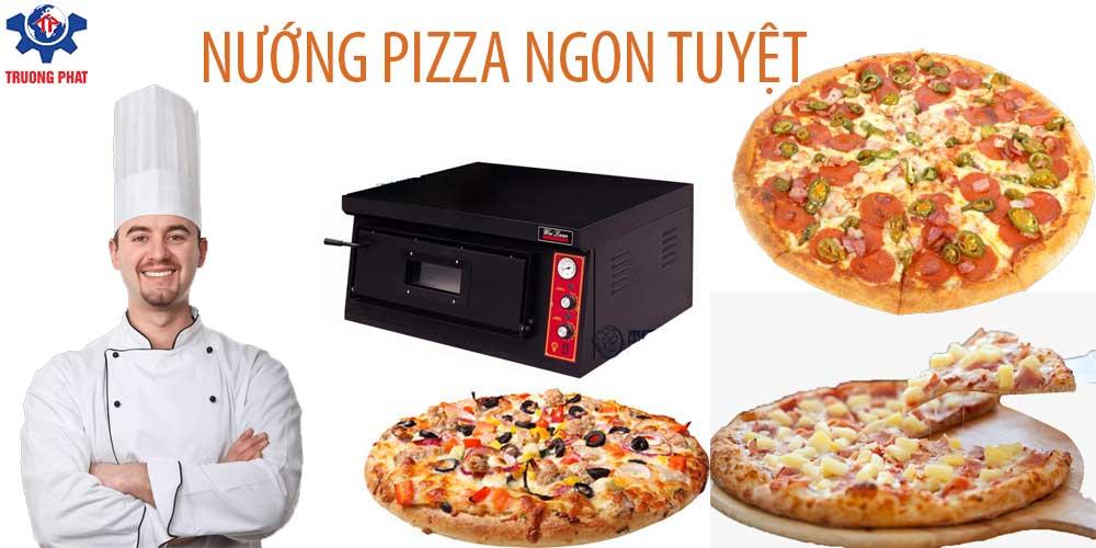 banner lò nướng bánh pizza
