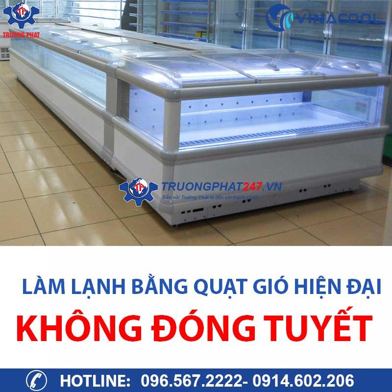 tủ đông làm lạnh bằng quạt gió