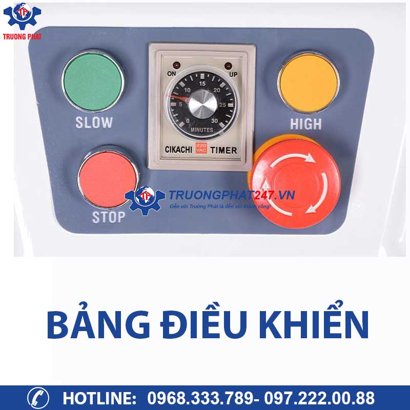 bảng điều khiển máy trộn bột