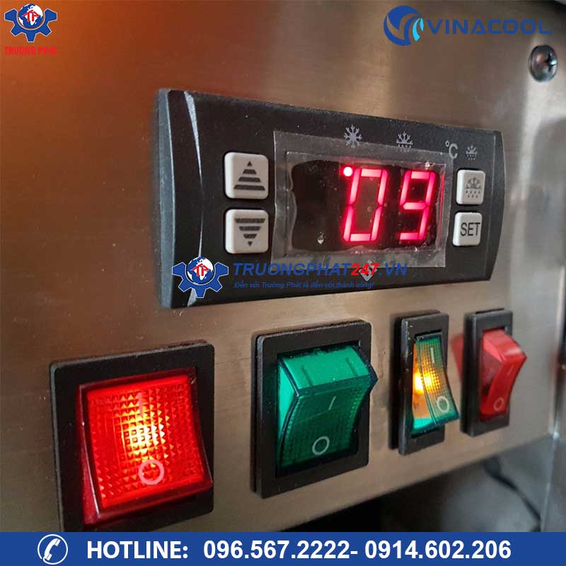 bảng điều khiển tủ bánh kính cong dh-900