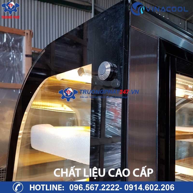 tủ bánh kem quán cafe 90cm chất liệu cao cấp