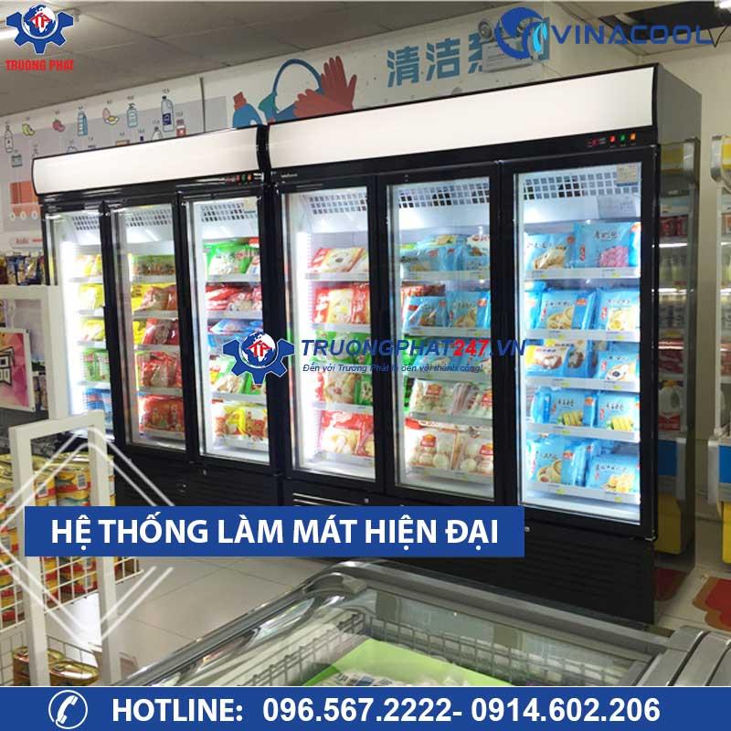 tủ đông bảo quản thực phẩm 3 cánh