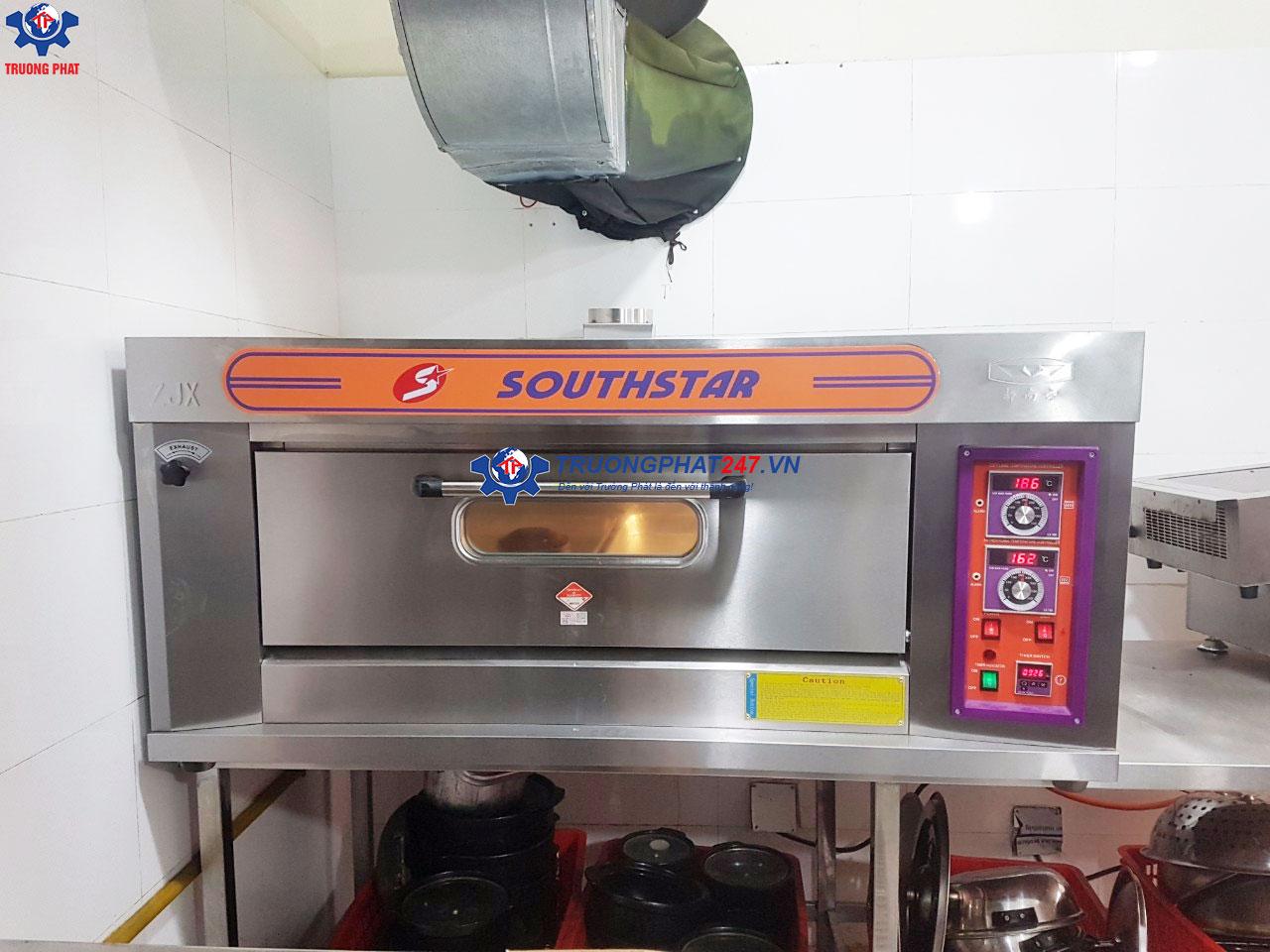 Lò nướng cơm niêu 1 tầng 2 khay dùng gas