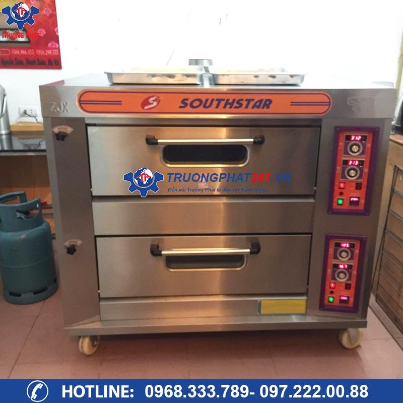lò nấu cơm niêu 2 tầng 4 khay dùng gas