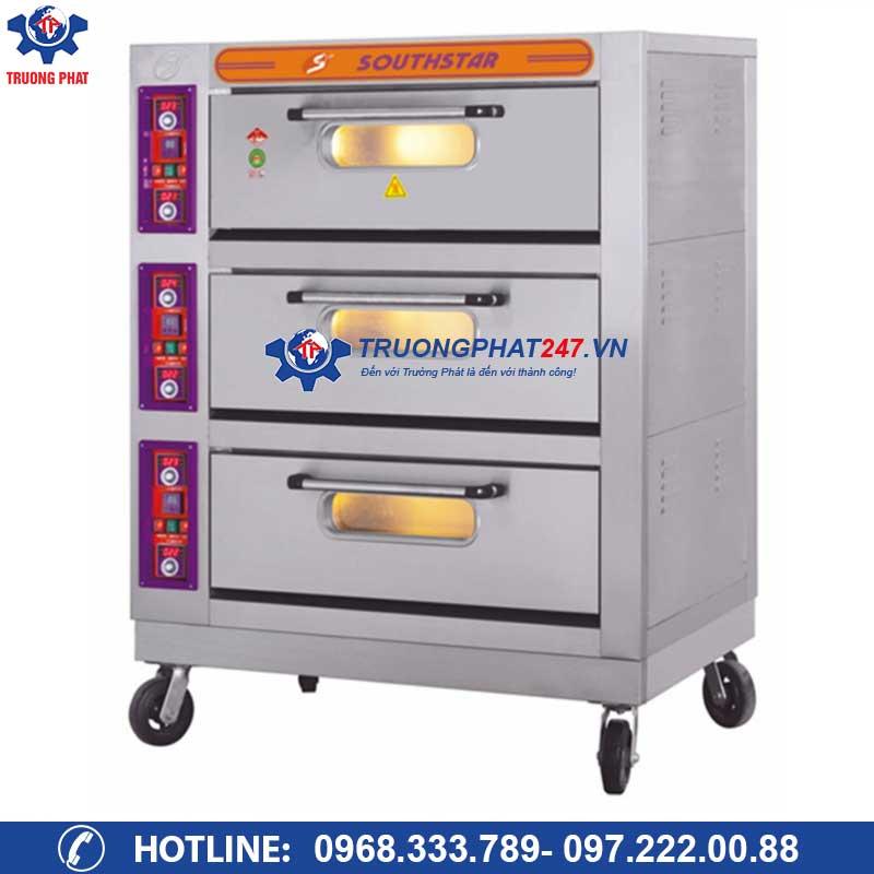 Lò nướng bánh mì, Pizza 3 tầng 6 khay điện YXD-60C