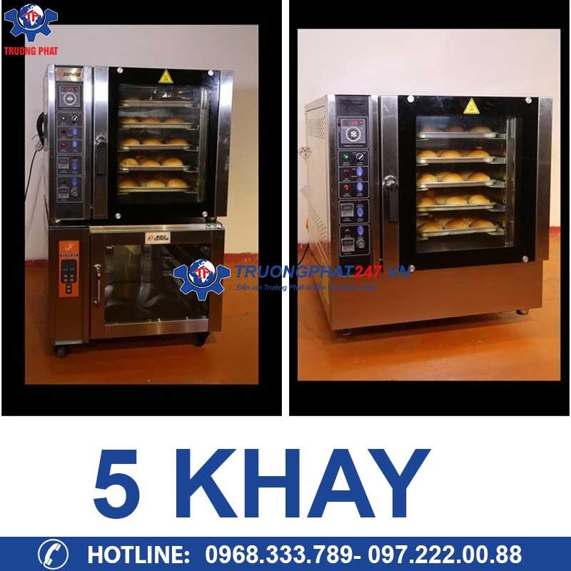 lò nướng bánh mì đối lưu 5 khay