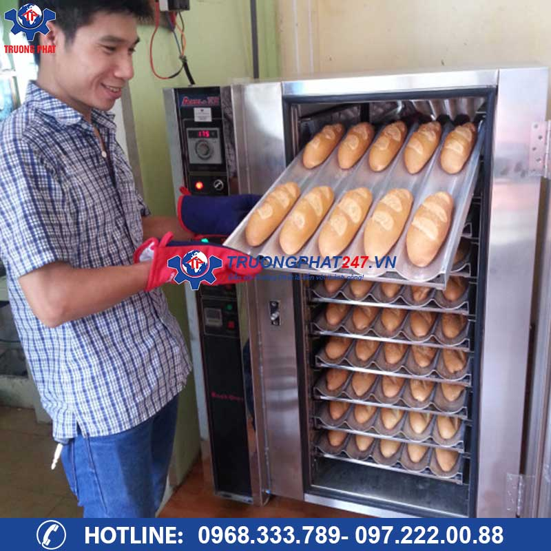 Lò nướng bánh mì đối lưu 10 khay điện