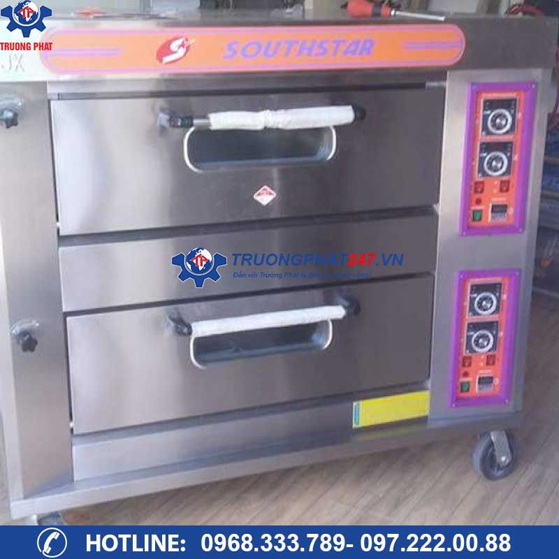 lò nướng 2 tầng 4 khay gas YXY-40A