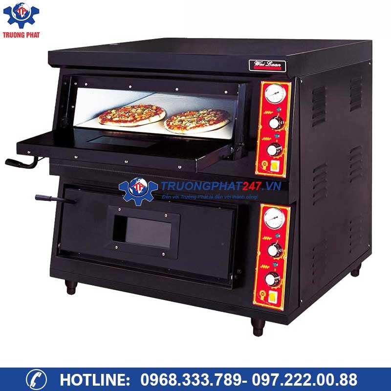 Lò nướng bánh Pizza dùng gas CR-2-4