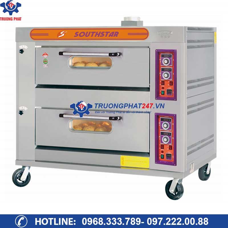 Lò nướng bánh 2 tầng 4 khay gas YXY-40A