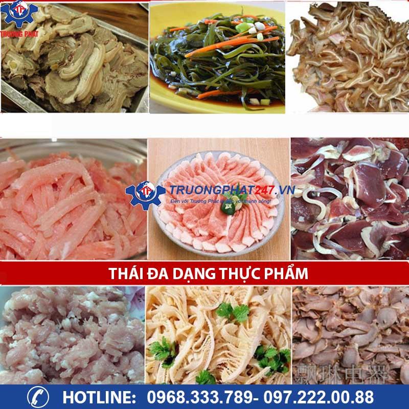 thái đa dạng thực phẩm