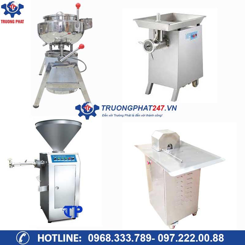 Trọn bộ máy làm xúc xích công nghiệp