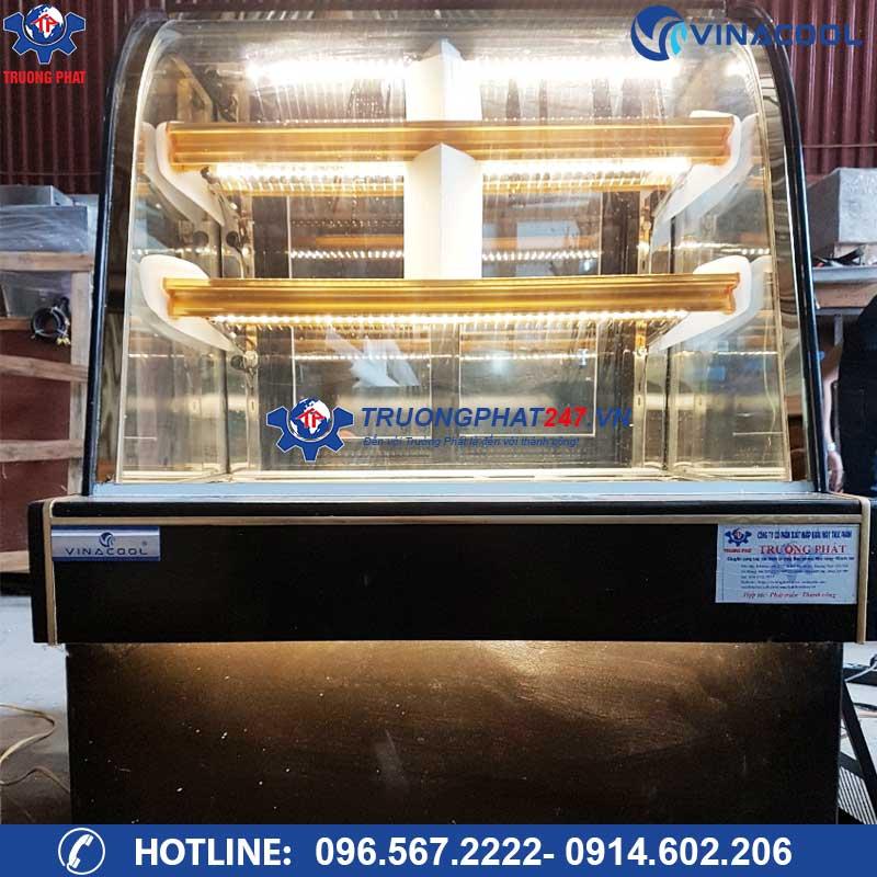 Tủ bánh kem 1m kính cong DH-1000 (Dài 1m)