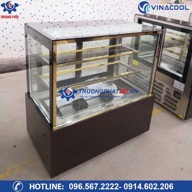 tủ bảo quản bánh kem 3 tầng 90cm