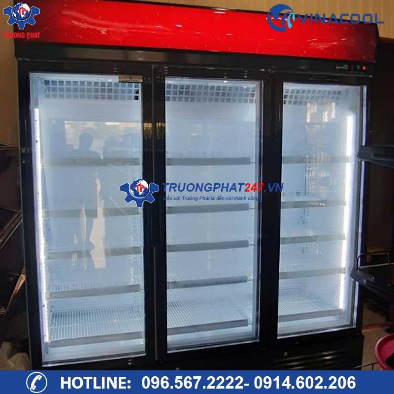 tủ đông lạnh 3 cánh kính trường phát