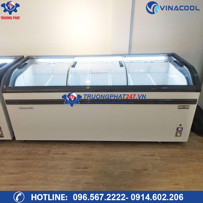 Tủ đông trưng bày kem, hải sản Vinacool WD4-738
