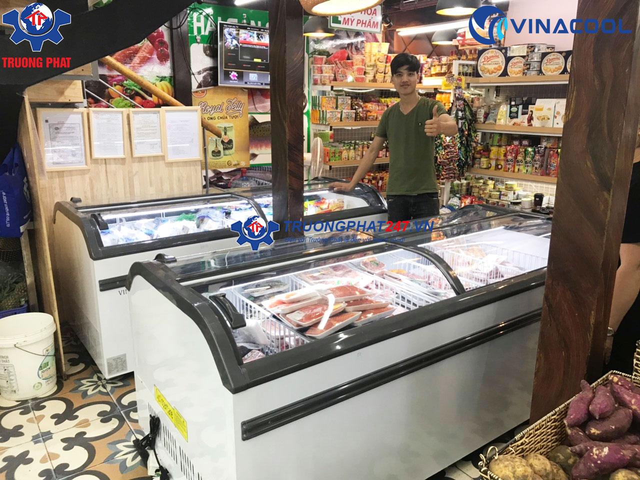 tủ đông trưng bày thịt siêu thị WD4-1008