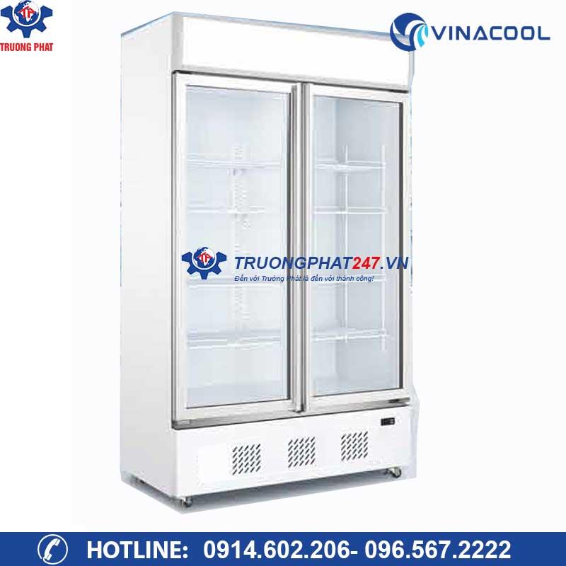 Tủ mát trưng bày 2 cánh kính Vinacool LG-1000M2/W