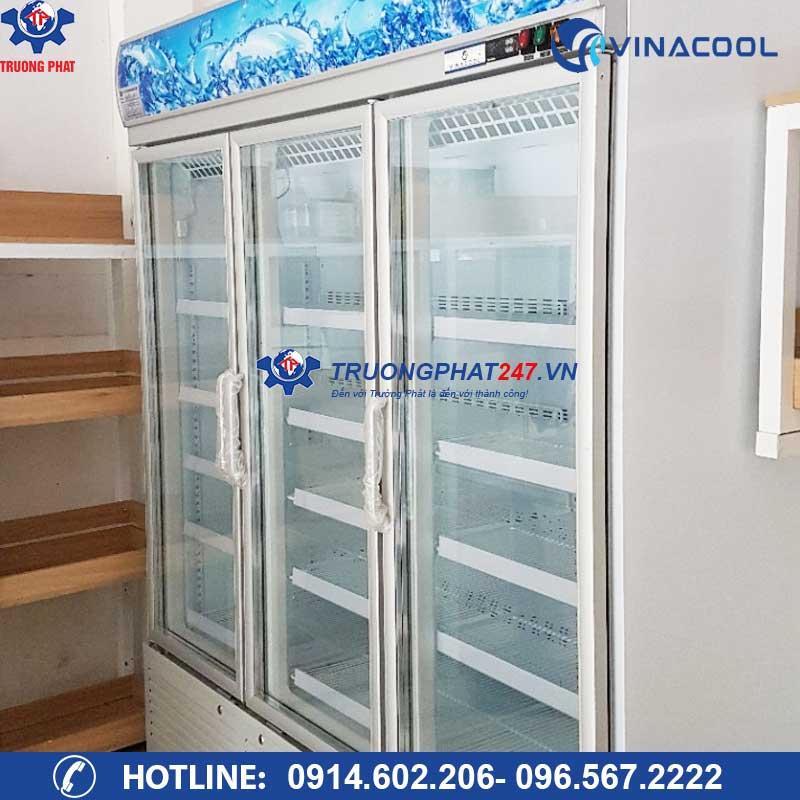 tủ mát 3 cánh kính Block làm lạnh cao cấp