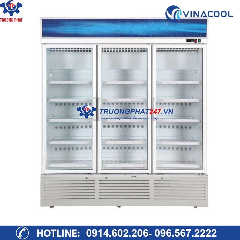 Tủ mát 3 cánh kính có sấy Vinacool SLG-1800F