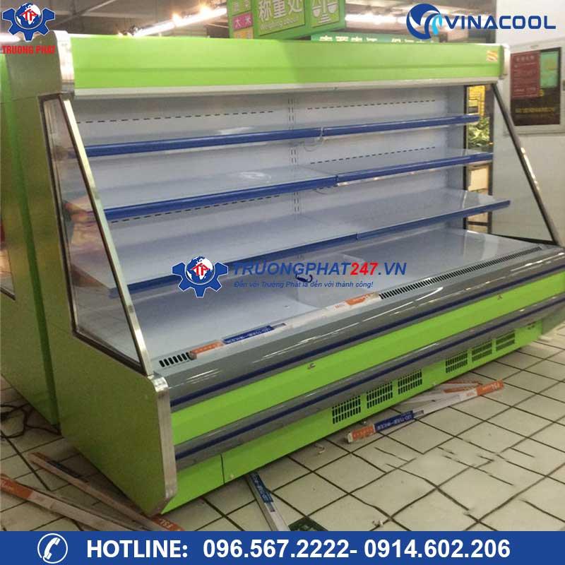 tủ lạnh bảo quản rau siêu thị