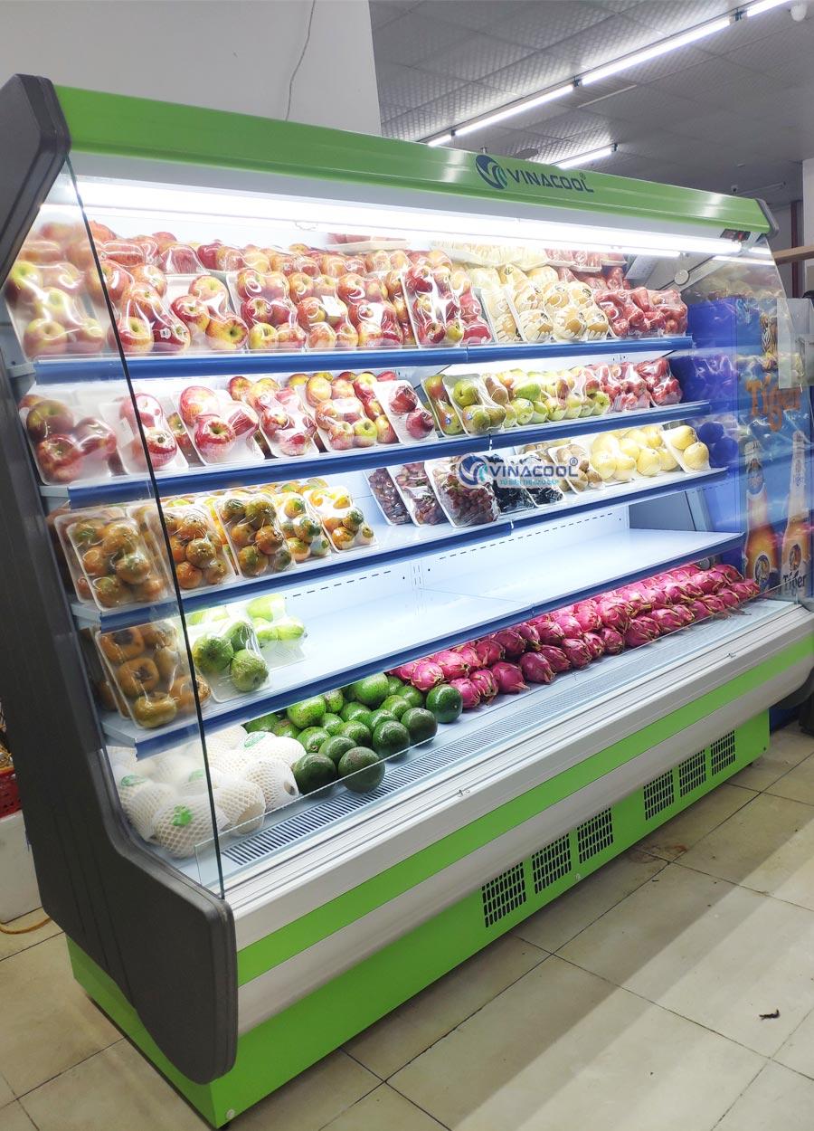 tủ siêu thị không cửa 5 tầng